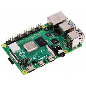 Raspberry Pi 4 Model B, BCM2711 SoC, 4 GB DDR4 RAM