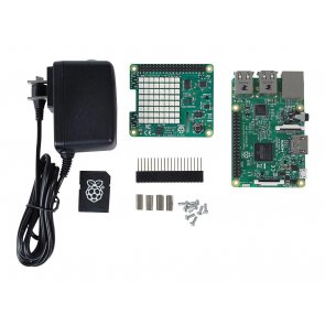 Kit de dezvoltare, RaspberryPi 3 model B, kit de monitorizare a vremii