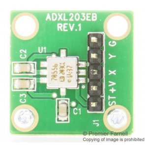 Modul de evaluare ADXL203