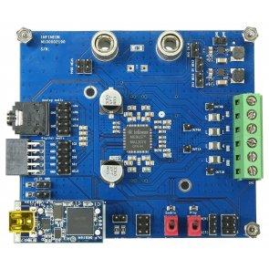 Placă de evaluare, amplificator audio MA12070 MERUS, 2 canale, 80W, intrare analogică