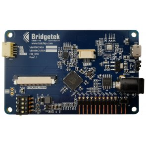 Placă de dezvoltare, motor video încorporat BT816, SPI Slave, display LCD integrat de 5""