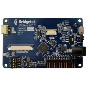 Placă de dezvoltare, motor video încorporat BT816, sclav USB, conector afișaj LCD