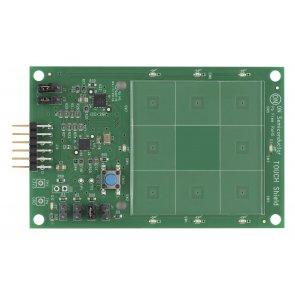 Placă de dezvoltare cu convertor digital capacitiv LC717A00AR
