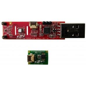 Kit de dezvoltare cu senzor de temperatură SI705x