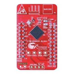 Placă de dezvoltare, Bluetooth, Psoc 4 BLE, CY8C4248LQI-BL583