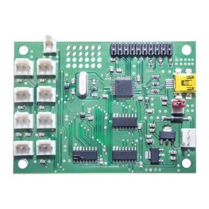 Placă de dezvoltare SMT172 cu senzori de temperatură