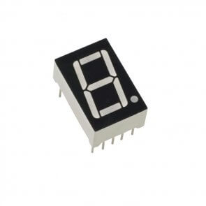 Display Led 1 digit CC