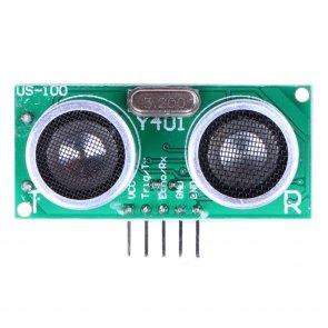 Senzor ultrasonic US-100 cu senzor temperatură