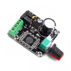 Modul amplificator audio Mini XH-M120 PAM8610 12V 2x15W