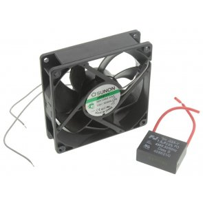 Ventilator Axial 240 VAC 92mm 25mm