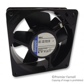 Ventilator Axial 230 VAC 119mm 38mm