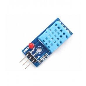Senzor digital de temperatură și umiditate DHT11 cu LED
