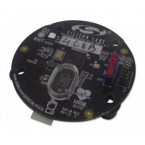 Modul de evaluare, senzor optic Si1147-M01, senzor de temperatură EFM32G210 MCU, Si7021