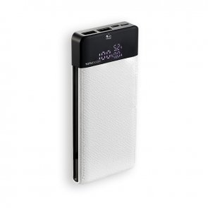 Acumulator extern Power Bank 10000mAh Dual USB  Alb
