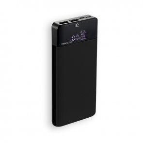 Acumulator extern Power Bank TOTU Design 10000mAh Dual USB  Negru