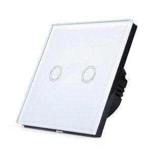 Întrerupator touch Wi-Fi alb 2