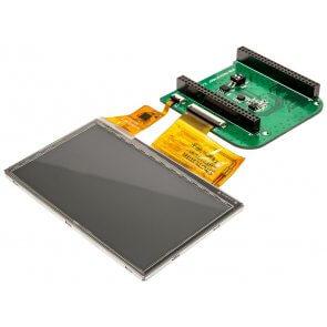 """Ecran LCD  tactil de 4,3 """"LCD pentru BeagleBone"""