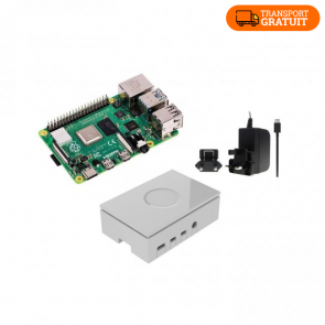Kit de start pentru Raspberry Pi 4 Model B