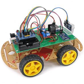 Kit mașină inteligentă șasiu dublu YW
