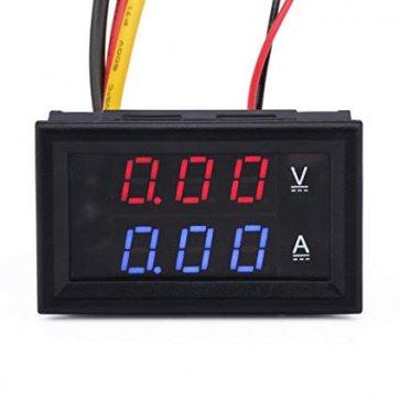 Voltméter és ampermérő 100V 50A