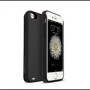 Acumulator extern cu incarcare wireless pentru iPhone 6,6S 2400mAh Negru