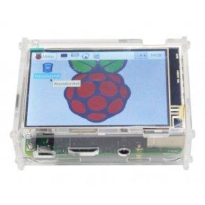 Ház a Raspberry Pi és a kijelző számára