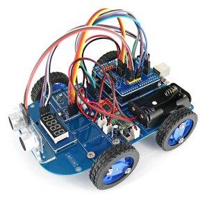 N20 hajtómű 4WD Bluetooth vezérelt Smart Robot autóskészlet Arduino számára
