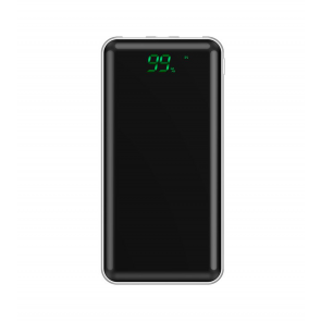 Acumulator Extern Power Bank LCD Display 10000mAh Alb