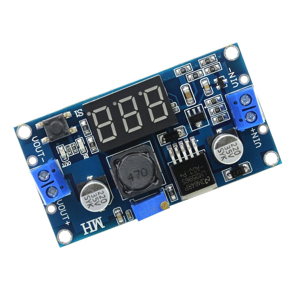 modul coborâre tensiune lm2596 cu display