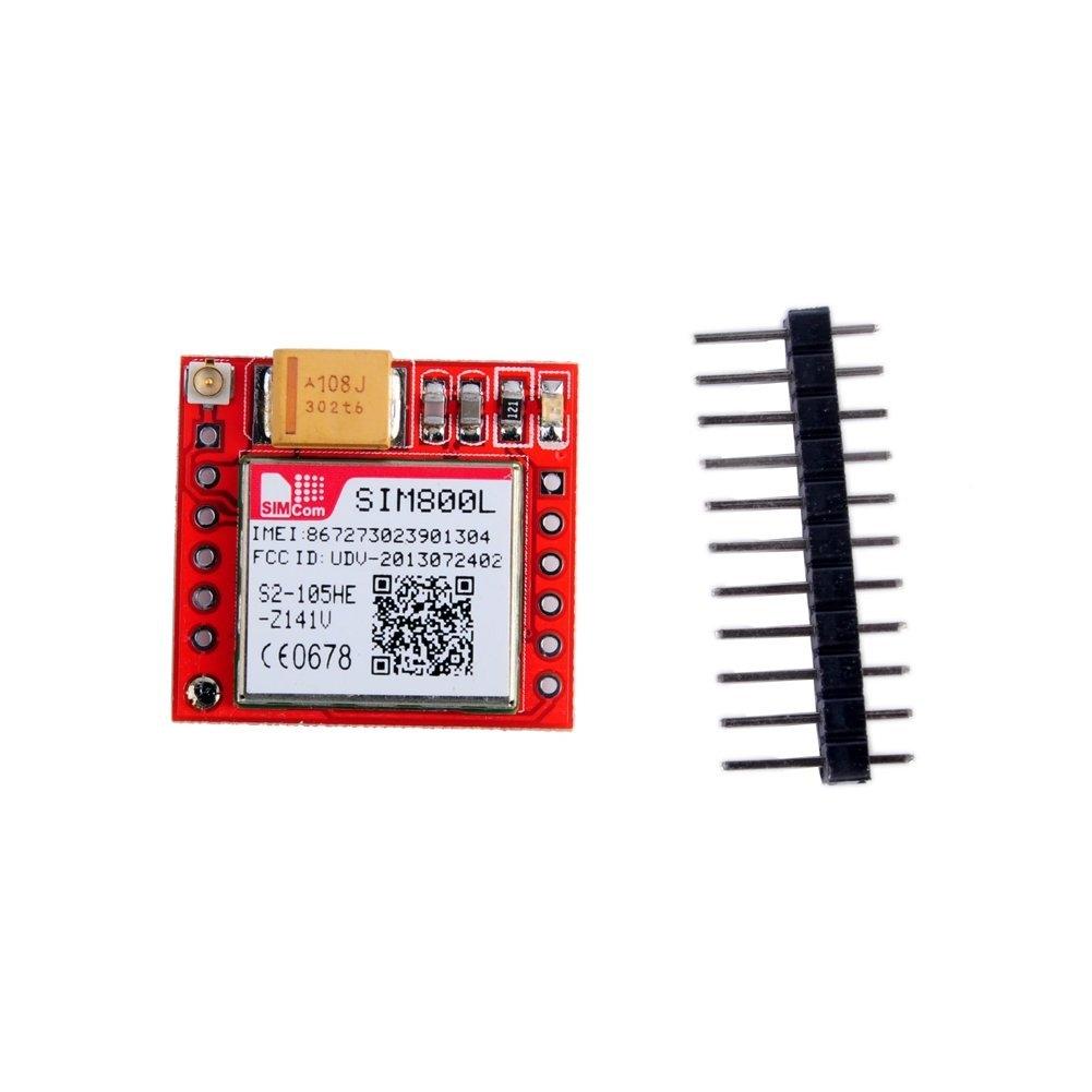 modul gprs gsm quad-band sim800l cu antenă