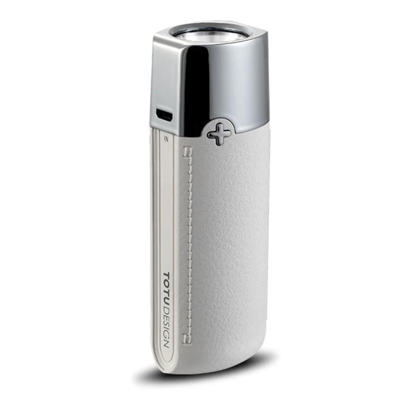 acumulator extern power bank 5000 mah cu lanterna alb