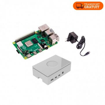 Kit de start pentru Raspberry Pi 4 Model B 4 GB