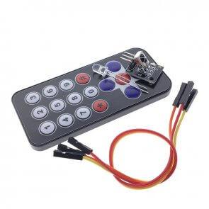 KIT IR távvezérlő + vevő + kábel