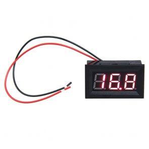"""Modul Voltmetru 0.56"""" LED cu carcasă"""