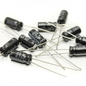 Condensator eletrolitic 1uF-470uF