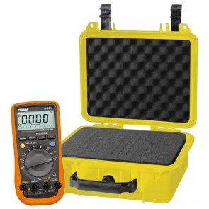 Pachet Multimetru Digital TENMA 72-2610 plus Carcasă