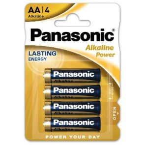 Baterie Alcalina Panasonic AA (LR6)