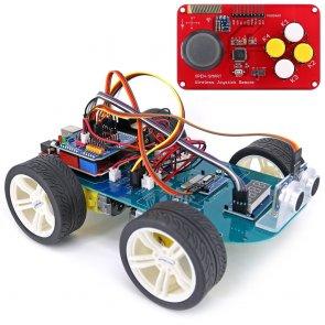 N20 hajtómű 4WD Bluetooth vezérelt Smart Robot autós készlet Arduino