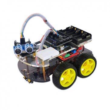 Mașină robot multifuncțională 4WD