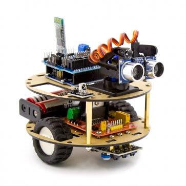 Mașină inteligentă broască
