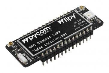 Placă de dezvoltare FiPY cu LoRa Sigfox WiFi Dual LTE-M și Bluetooth