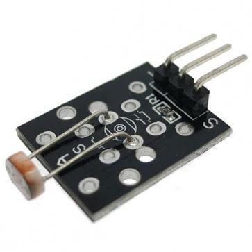 Modul senzor cu rezistență fotosensibilă pentru Arduino
