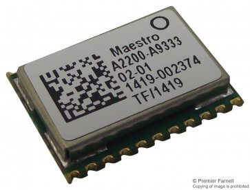 Modul receptor GPS SiRFstarIV A2200A