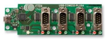 Placă adaptor USB Wireless USB-COM232-PLUS4 4 canale
