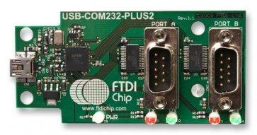 Placă adaptor FTDI USB-COM232-PLUS2 2 canale
