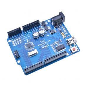 Placă de dezvoltare compatibilă Arduino Uno R3 Mini USB ATmega328P CH340G