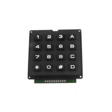 Tastatura 4x4 neagra