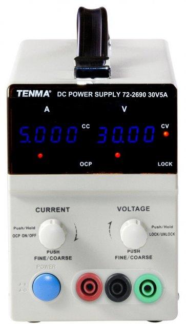 Sursă de alimentare programabilă cu control digital Tenma 72-2690  0-30V 0-5A
