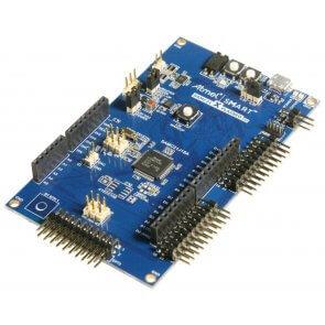 Kit de evaluare, SAM C21 Xplained Pro, ATSAMC21J18A MCU, Debugger încorporat
