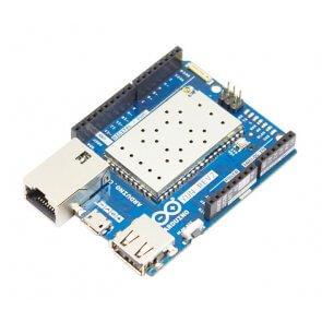 Placa de dezvoltare, Arduino Yun Rev 2, ATmega32U4 MCU, modul WLAN